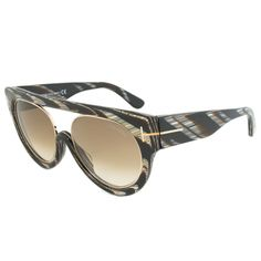 Tom Ford Alana Oval Women's Sunglasses FT0360 63F