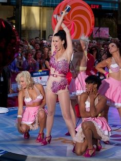 Katy Perry on the Today show