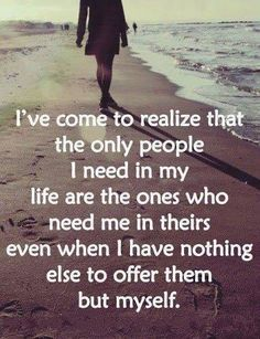Very true...luckily I've got a lot of really wonderful people in my life and I feel very blessed :)