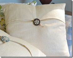 Pottery Barn Inspired Pillow Tutorial