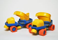 Pin for Later: Teddy Ruxpin and 14 More Toys That Shaped Your Childhood Fisher-Price Roller Skates You didn't even have to take your shoes off! Source: RetroJunk