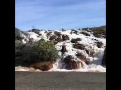 Image result for pictures of oroville dam spillway before letting water go over spillway on february 2, 2017