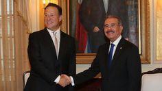 El Presidente Medina Y Su Homólogo Juan Carlos Varela Están Reunidos En Audiencia Privada