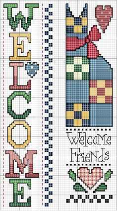 Welcome #cross #stitch