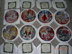 101 Dalmatians Complete 8 Disney Bradford Exchange Collector Plates New | eBay