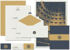 Pantheon Identity System , Stationery Set - Seth Lunsford