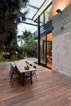 Allen Jack Cottier | Glass Loggia House on http://www.arthitectural.com
