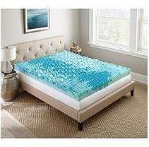Lane Gel Memory Foam Queen Mattress Topper 4""