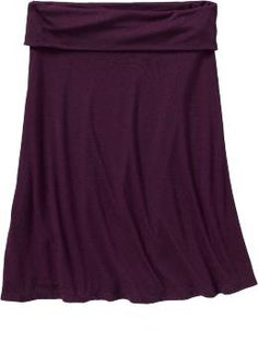 Old Navy Fold Over Jersey Skirt