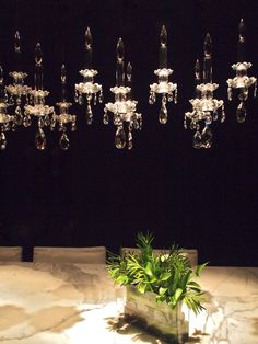 WINDFALL Chandeliers -The Balance Chandelier Crystal Clear