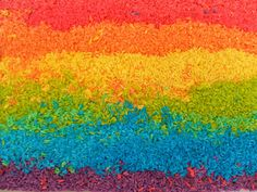 Rockabye Butterfly: Rainbow Rice!!