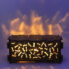 "$89 Australian Dollars.  ""Dragonfly""- night light box.  Made for the love of dragonflies!  Perfect as a special gift to yourself or a loved one.  This cute little box can be used as a night-light or trinket box.  To use it as a night light, just put the two battery driven LED tea-lights included inside and let the magic begin! (Please, do not use a real tea light in the box)  The product is flat-packet when shipped and comes with very easy instructions."