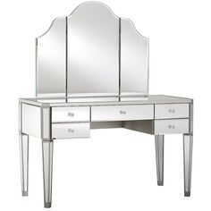 PB Teen Zoe Vanity Set, Desk + Hutch ($1,095) ❤ liked on Polyvore featuring home, furniture, desks, pbteen, wooden furniture, wood vanity set, wood furniture and wood desk