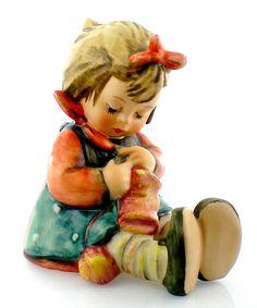 Hummel Knit One Purl One Hummel Figurine 432