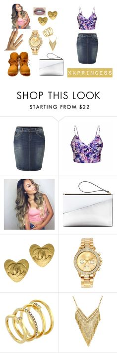 """""""Untitled #345"""" by xkprincess on Polyvore featuring True Religion, Ally Fashion, Timberland, Marni, Chanel, Mestige and Vince Camuto"""
