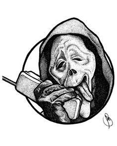 Dark Art Drawings, Tattoo Design Drawings, Design Tattoo, Tattoo Sketches, Drawing Sketches, Cool Drawings, Tattoo Designs, Tattoo Line, 4 Tattoo