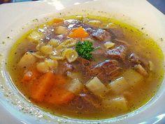 Kräftige Rindfleischsuppe, ein beliebtes Rezept aus der Kategorie Gemüse. Bewertungen: 36. Durchschnitt: Ø 4,6.