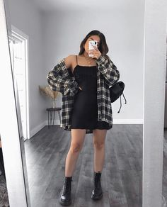 Trendy Fall Outfits, Basic Outfits, Teen Fashion Outfits, Edgy Outfits, Mode Outfits, Retro Outfits, Cute Casual Outfits, Simple Outfits, Look Fashion