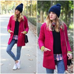 2013 / Coat: Sheinsidey/ Sweater: In Love With Fashion/Jeans: Zara /Sneakers: Converse/ Bag: Purificación Garcia