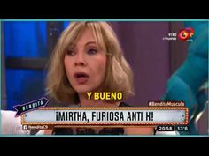¡Mirtha, furiosa anti K!