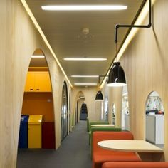 A look inside the offices of some of the world's leading companies and creative businesses, with the best office interior architecture and design. Interior Ceiling Design, Studio Interior, Office Interior Design, Office Interiors, Office Design Concepts, Office Space Design, Workplace Design, Office Spaces, Work Spaces