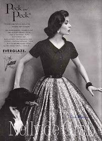 Couture Allure Vintage Fashion: Nelly de Grab - 1955