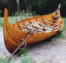 Viking Boat Building #boatbuilding