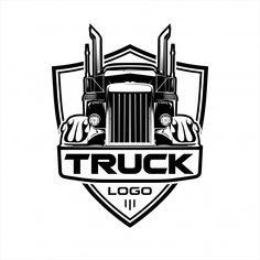 Truck logo art 21 ideas for 2019 Big Rig Trucks, Semi Trucks, Old Trucks, Chevy Trucks, Pickup Trucks, Jeep Pickup, Lifted Trucks, Truck Icon, Truck Art
