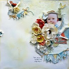 Zephyr Layout by Felicity Wilson for Prima I love what was done with the background paper on this one! kb