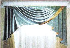 Выкройка штор