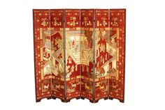 Rare Antique Chinese Red Lacquer Coromandel by ErinLaneEstate  #chinesecoromandel #chinesescreen #redlacquerscreen #coromandelscreen #lacquercoromandel #antiquecoromandel #antiquechinesescreen  #homedecor #asiandecor #screen #roomdivider #antique #antiquescreen #asian #chinese #coromandel
