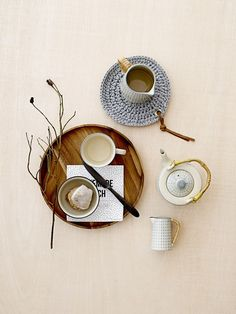 Nordic table setting ♥ Design by Bloomingville