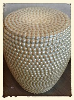 Taupe Stool..one of my fave pieces♥BOWRING High Street