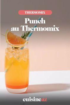 Avec le Thermomix, on peut préparer des cocktails comme le punch. #recette#cuisine #cocktail #punch #robot #robotculinaire #thermomix
