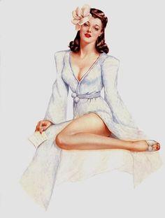 classic pin up girls | Image - Vintage-Pin-Up-Girl-pin-up-girls-10310573-604-800.jpg - Bully ...
