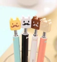 cute stationery school supplies kawaii ballpoint pens-in Ballpoint Pens from Office & School Supplies on Aliexpress.com
