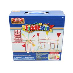 Poof Products Inc.-Slinky Ideal Fabulous Fiddlestix 68-piece Construction Toy Set