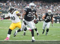 Raiders vencen a Steelers SEMANA 8 Raiders de Oakland 21-18  Foto: Reuters