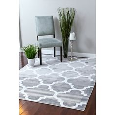 Persian-rugs Gray Area Rug & Reviews | Wayfair