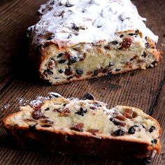 Kerstol (Christmas Stollen) This looks just like the stollen my father, who was a dutch baker, used to make. We would butter a toasted slice and spread the warm almond paste on top! In memory of my Dad, this Christmas I will be baking this delicious recipe!