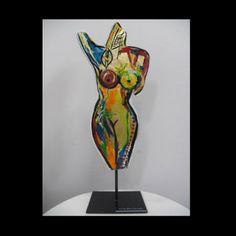 Body metal sculpture
