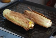 Roasted Corn in Oven