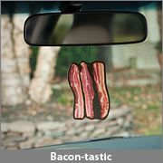 I would just be hungry,all the time with this..  Bacon Scented Air Freshener