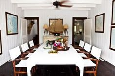 At home with India Hicks and David Flint Wood in the Bahamas: home and guest houses