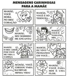 Atividades para o Dia das Mães Bullet Journal, School, Kids, Marines, Professor, Google, Blog, Mother's Day Activities, Poems For Mothers Day