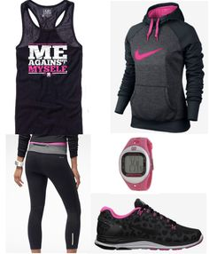 trendy sport motivation girl dream bodies health look fashion, sport fashion, fitness Workout Attire, Workout Wear, Workout Outfits, Workout Clothing, Fitness Clothing, Workout Tanks, Pink Workout, Running Clothing, Exercise Clothes