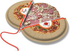 one of several concepts for frozen pizza from Sherwood Forlee