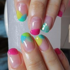 Celebrate the end of #summer with a bright #manicure. #SoCutex