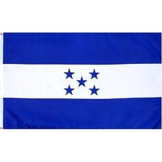 Honduras Flag Polyester 3 ft. x 5 ft. by Flags Unlimited. Save 75 Off!. $4.99. Honduras 3ft x 5ft Printed Polyester Flag. This 3ft x 5ft Honduras Flag is a printed flag that is made of a good quality polyester. It has been finished with a strong header with brass grommets and it is okay for indoor or outdoor use. At great prices like these you won't want to pass it up.