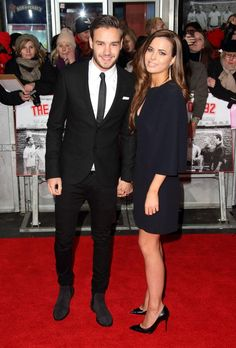 Liam and Sophia at the Class of 92 premiere. Andddd they look happy. Ok Sophia, I'm slowly getting used to you. You make him happy so I am happy for him, and you. -D.F.L